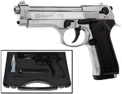 Blow V92F 9MMPA Blank Firing Gun Chrome Finish