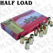 9MM/380 Half Load Blanks, 50 Pack