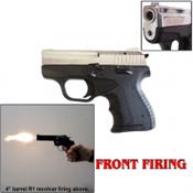 Zoraki M906 Front Fire 9MMPA Blank Gun-Chrome