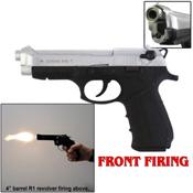 92Z Zoraki M918 9MMPA Front Firing Blank Gun-Chrome