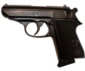 Broken Kimar 8mm PPK blank gun black