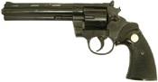 """Broken Kimar Python 6"""" Barrel 9MM/380  Revolver Blank gun black"""