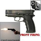Sava Front Firing 9MMPA Blank Firing Gun Black