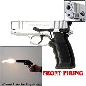 Sava Front Firing 9MMPA Blank Firing Gun Chrome