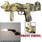 Front Firing Camo UZI Blank Gun 9MMPA