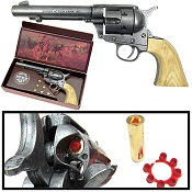 "John Wayne ""The Duke"" 1873 Army Peacemaker Cap Pistol Gray Finish"
