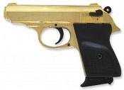 V-PPK 9 MMPA Blank Firing Gun - Gold