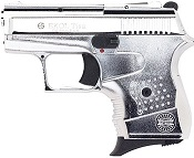 Tisa 8MM Blank Firing Gun-Nickel