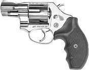 ".38 Snub Nose 2"" Revolver 9mm/380 Blank Firing Gun-Nickel"