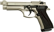 V92F Jackal Fully Automatic Beretta 9MM PA Blank Gun Satin