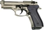 Full Automatic Blank Gun Beretta V92F Jackal Compact 9MM PA- Satin