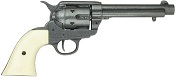Cap Firing 1873 Peacemaker, Grey Ivory Grips Gray
