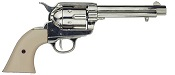 Cap Firing 1873 Peacemaker, Nickel Ivory Grips