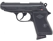 PPK 9MMPA Blank Firing Gun-Black