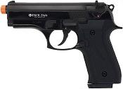 Front Firing Beretta Cougar 9MMPA Blank Firing Gun Black