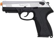 Front Firing Beretta PX4 9MMPA Blank Gun Replica Nickel
