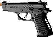 Front Firing Beretta M85 9MMPA Blank Firing Gun Black