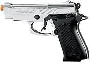 Front Firing Beretta M85 9MMPA Blank Firing Gun Nickel