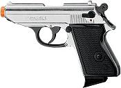 Front Firing PPK 9MMPA Blank Firing Gun Nickel