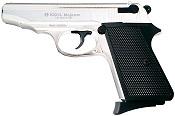 Makarov PM 9MMPA Blank Firing Gun-Nickel