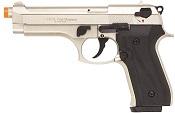 Front Firing V92F 9MMPA Blank Firing Gun-Satin