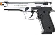 Front Firing V92F 9MMPA Blank Firing Gun-Chrome