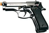 Front Firing V92F Compact 9MMPA Blank Firing Gun Chrome