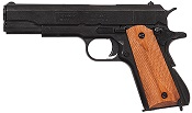 Replica M1911A1 Government Automatic Pistol Non-Firing Gun Black, Light Wood Grips