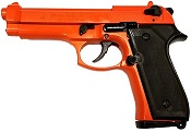 Beretta M92F-9MMPA Blank Firing Gun- Orange
