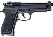 M92 Bruni 9mmPA Blank Gun Black Finish