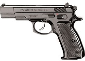 Kimar 75 8MM Semi-Auto Blank Firing Pistol - Black Finish