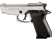 Kimar M85 8MM  Semi-Auto Blank Firing Pistol - Nickel Finish