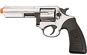 Kimar Power Front Firing Blank Revolver 9MMPA - Nickel Finish