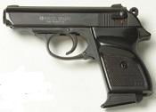 V-PPK 9 MMPA Blank Firing Gun - Black