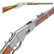 Western Lever Action M1866 Gray Rifle