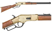 Western Lever Action M1866 Brass Rifle