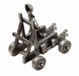 Miniature Medieval Catapult.