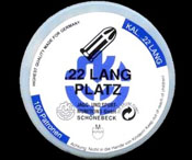 .22LR Blank Cartridges, 100 Pack