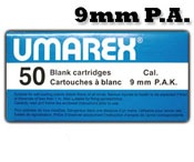 9MMPA or 9MMPAK Blanks, 50 Pack