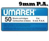 9MMPA or 9MMPAK Blanks, 50 Pack