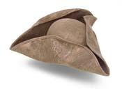 Pirate/Colonial Tri-Corner Hat