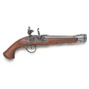 18th Centurh European Flintlock Pistol-Gray