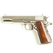 1911 Government Semi Automatic, Nickel