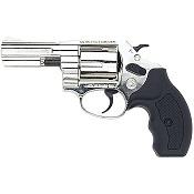 .38 Detective Revolver 3 Inch 380/9MM Blank Gun-Nickel