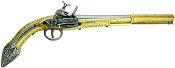 18th Century Miquelet lock Algerian Replica flintlock pistol