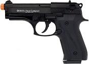 Front Firing V92F Compact 9MMPA Blank Firing Gun Black