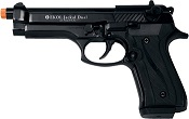 Front Firing Jackal 9MMPA Blank Firing Gun- Black