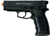 Front Firing Sava 9MMPA Blank Gun Black
