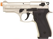 Front Firing V92F Compact 9MMPA Blank Firing Gun Satin