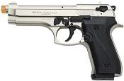 Front Firing Jackal 9MMPA Blank Firing Gun- Satin